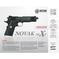 NOVAK NEXT fully licensed Airsoft pistol - 2 tones