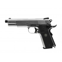 NOVAK NEXT fully licensed Airsoft pistol - Silver